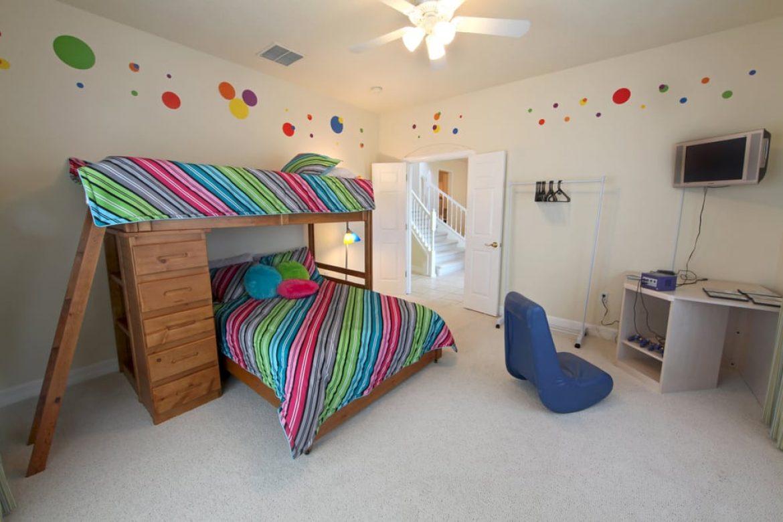 bunk beds in bedroom